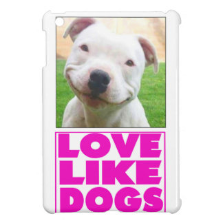 Love Like Dogs Love Postcard Cover For The iPad Mini