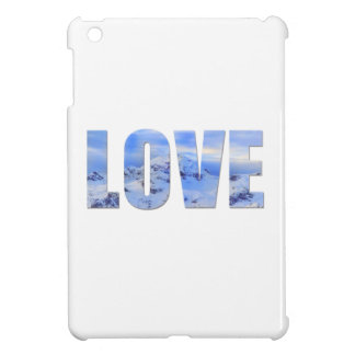Love Like Snow Hard shell iPad Mini Case