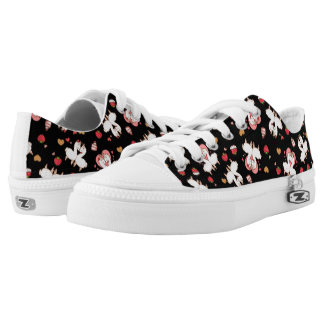 Love Llama Madness Low Tops