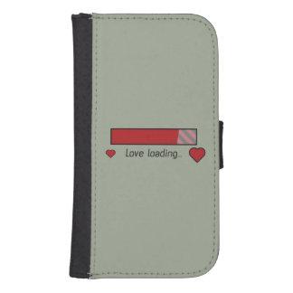 love loading gaming heart Zev4x Samsung S4 Wallet Case