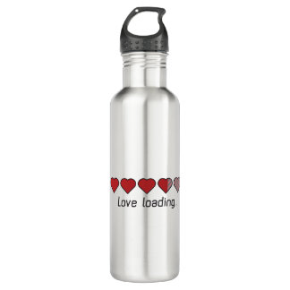 Love loading hearts Zzl2s 710 Ml Water Bottle
