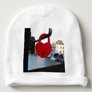 love lock in venice baby beanie