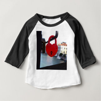 love lock in venice baby T-Shirt