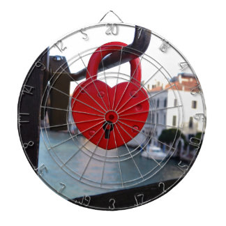 love lock in venice dartboard