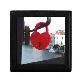love lock in venice gift box