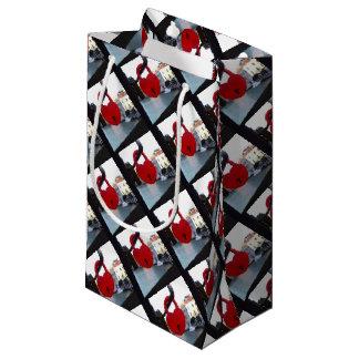 love lock in venice small gift bag