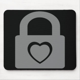 love locked down. mouse pad