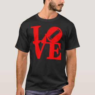 love_longboard_red T-Shirt