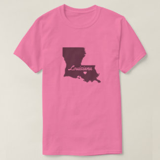 Love Louisiana Love Baton Rouge Shirt