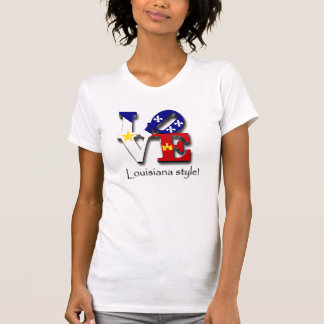 Love Louisiana Style Tshirt