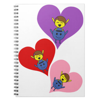 Love, love and love notebook