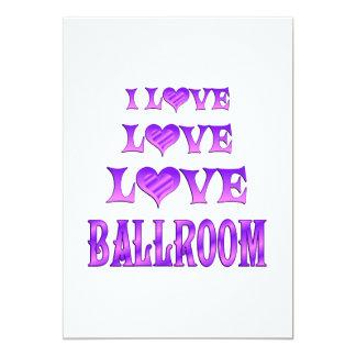 Love Love Ballroom Personalized Announcements