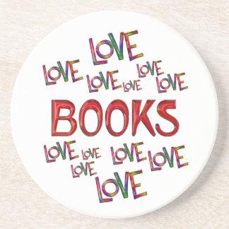 Love Love Books Coaster