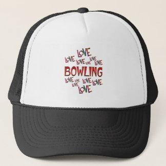 Love Love Bowling Trucker Hat