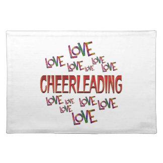 Love Love Cheerleading Placemat