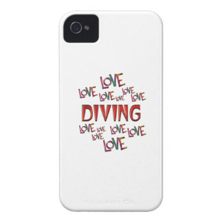 Love Love Diving iPhone 4 Case-Mate Case