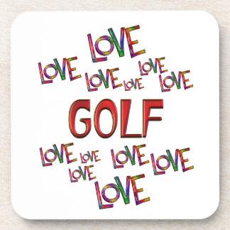 Love Love Golf Coasters
