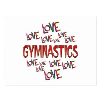 Love Love Gymnastics Postcard