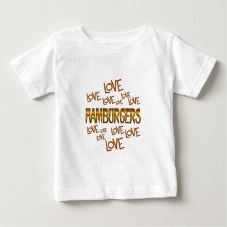 Love Love Hamburgers Baby T-Shirt