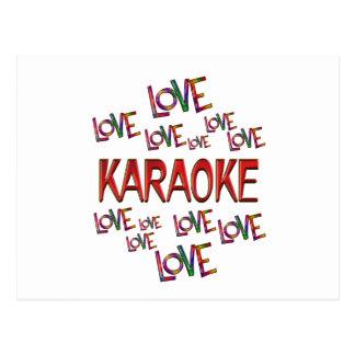 Love Love Karaoke Postcard