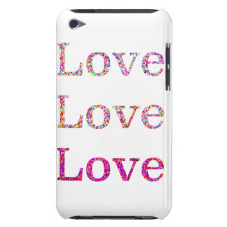 Love Love Love Barely There iPod Covers