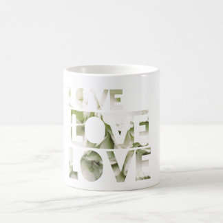 Love Love Love Basic White Mug