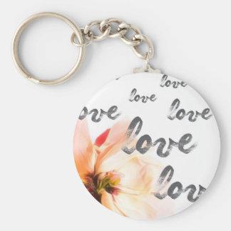 Love Love Love Key Ring