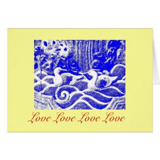 """""""Love Love Love Love"""" Card"""