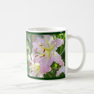 LOVE Love love Mugs gifts Pink Lily Flowers Nature