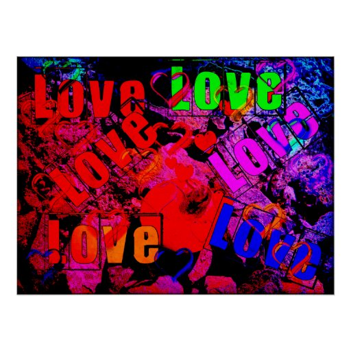 Love Love Love Posters