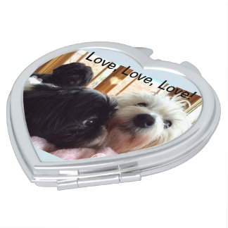 Love love love Puppy Love compact Mirrors For Makeup