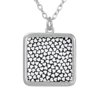 Love Love Love Silver Plated Necklace