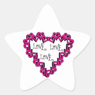 Love Love Love Stickers