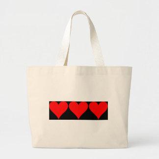 Love Love Love Canvas Bag