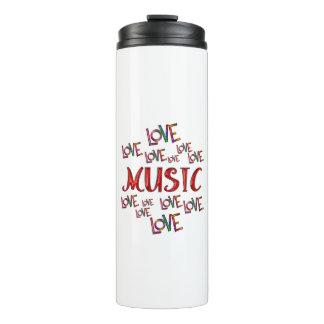 Love Love Music Thermal Tumbler