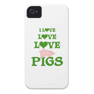 Love Love Pigs Case-Mate iPhone 4 Cases