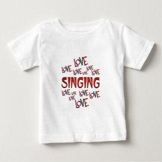 Love Love Singing Baby T-Shirt