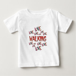 Love Love Walking Baby T-Shirt
