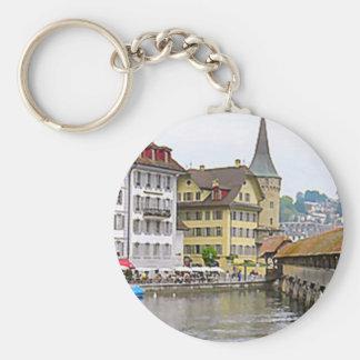 Love Lucerne Key Ring