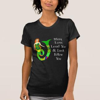 Love & Luck Irish Mermaid Tee Shirts