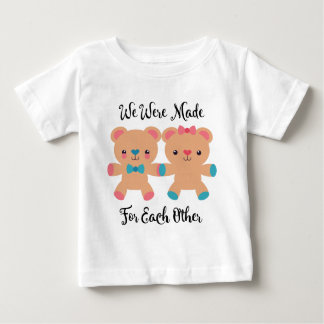 Love Made For Each Other Baby T-Shirt