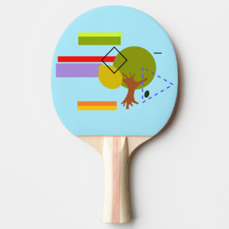 Love Magnet / Ping Pong Paddle, Red Rubber Back Ping Pong Paddle