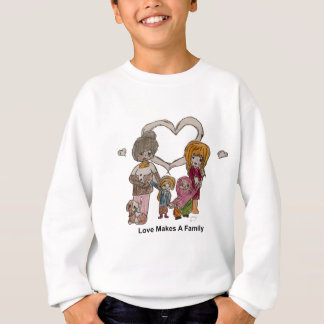 Love Makes a Family by Ainsley Sweatshirt