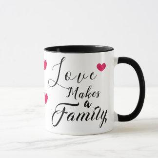 Love Makes a Family - Foster Care Adoption Mug