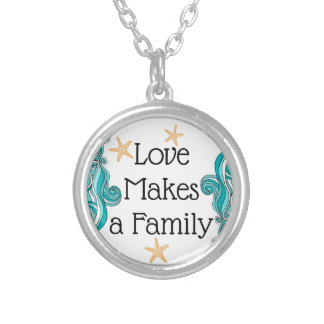 Love Makes a Family - Starfish Story Necklace
