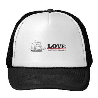 love makes life beautiful cap