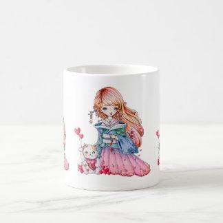 """""""Love Maneki Neko"""" mug"""