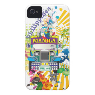 Love Manila, Philippines Case-Mate iPhone 4 Cases
