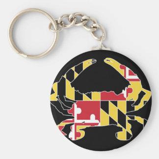 Love Maryland Key Ring