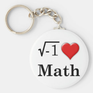 Love math key ring